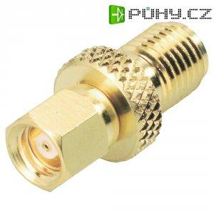 SMC zástrčka / SMA zásuvka BKL Electronic 414076, 50 Ω, 6 GHz