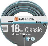 Hadice Gardena Classic, 18001-20, 18 m, Ø 13 mm, šedá/oranžová