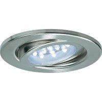 Vestavné LED osvětlení, sada 3 ks, naklápěcí, 3x 0,8 W