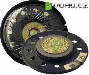 Repro 40x11mm 8ohm/0,5W,membrána i koš z plastu