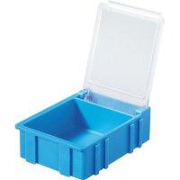 Box pro SMD součástky Licefa, N32381, 41 x 37 x 15 mm, modrá