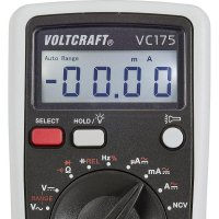 Digitální multimetr Voltcraft VC-175, kalibrovaný dle ISO