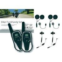 Vysílačky Albrecht Tectalk Smart Bikerset Jethelm, sada 2 ks
