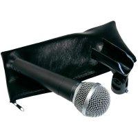 Sada mikrofonu se stativem Paccs Megastar Pro, stříbrná