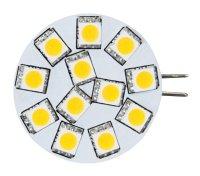 Žárovka LED G4 5050-12SMD - bílá teplá