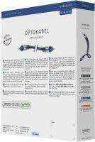 Kabel Toslink vidlice (ODT) ⇒ vidlice (ODT), 2 m, modrý, Inakustik