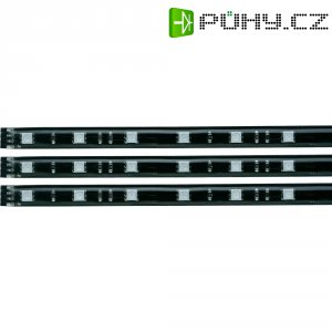 Dekorativní LED pásy Paulmann YourLED Stripe, sada 3 ks, 97 cm, černá (70214)