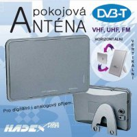 Anténa TV pokojová, analog i DVB-T,typ DT-1200