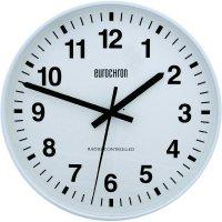 Analogové DCF nástěnné hodiny Eurochron EFWU 2000, Ø 50 cm, bílá