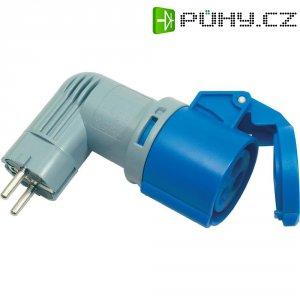 CEE Cara adaptér PCE 9434100is, 3pólový, 16 A, IP20, modrá/šedá
