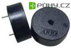 Piezoměnič, 90 dB, 3 - 30 V/DC, do DPS