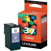 Cartridge Lexmark 37, 18C2140, žlutá/cyanová/magenta