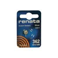 Knoflíková baterie na bázi oxidu stříbra Renata SR58, velikost 362, 23 mAh, 1,55 V