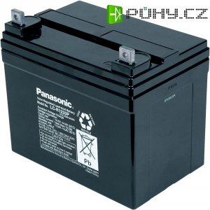 Olověný akumulátor, 12 V/33 Ah, Panasonic LC-R1233P