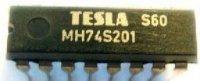 74S201 - paměť RAM 256bit, DIL16 /MH74S201/