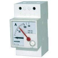 Elektromagnetický měřicí přístroj na DIN lištu GMW EQB 45H, 5/10 A