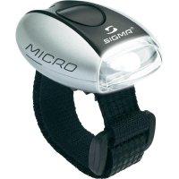 LED svítilna Sigma Micro, stříbrná/bílá