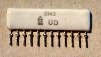 Odporová síť 3342 z radiomagnetofonu GERACORD GC6020