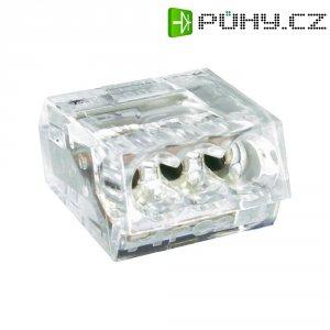 Svorka, 0,25 - 2,5 mm², 4pólová, transparentní