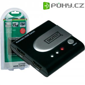 HDMI přepínač, 2 porty, Digitus
