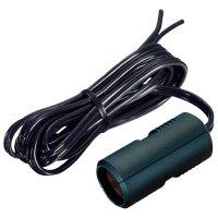 Autozásuvka s kabelem ProCar, 67887001, 12/24 V, 8 A, 1,8 m