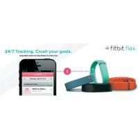 Fitness náramek FitBit Flex Wirel, černá