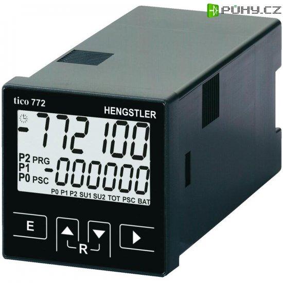Multifunkční čítač Hengstler tico 772, 115 V/AC, 2 relé - Kliknutím na obrázek zavřete