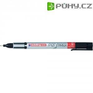 Trvanlivý popisovač edding 405- černá, 0.7 mm (max)