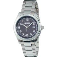 Ručičkové náramkové hodinky Eurochron 901 Quartz, pásek z nerezové oceli, stříbrná