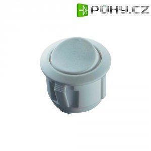 Kolébkový spínač, s aretací, 250 V/AC, 6 A, zap/zap, bílá