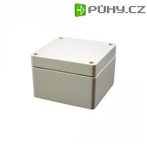 Plastové pouzdro IP66 Hammond Electronics, (d x š x v) 120 x 90 x 80 mm, šedá (1554GGY)