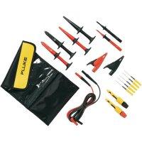 Sada měřicích kabelů banánek 4 mm ⇔ banánek 4 mm Fluke TLK282-1, 1,5 m, černá/červená