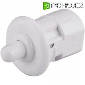 Dveřní spínač kulatý, 250 V/AC, 0,16 A, bílá