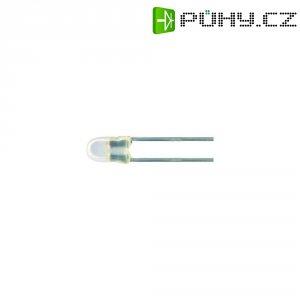 LED dioda kulatá s vývody Kingbright, L-937EGW, 20 mA, 3 mm, 2 V, 60 °, 20 mcd, červená/zelená