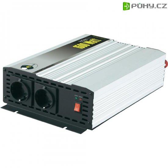 Sinusový měnič napětí DC/AC e-ast HPLS 1500-24, 24V/230V, 1500 W - Kliknutím na obrázek zavřete