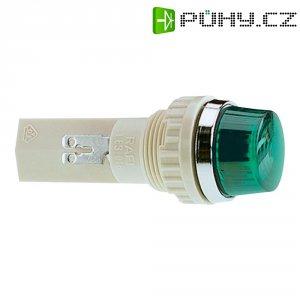 Pouzdro pro signalizační světla RAFI, zelená (transpa.), 18,2 mm, kulaté