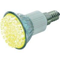 LED(38) žárovka 230V E14 - žlutá