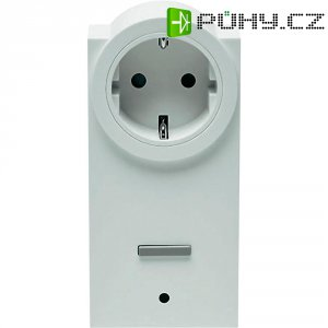 Bezdrátová spínací zásuvka s měřením spotřeby HomeMatic, 130248, 1kanálová, 3680 W