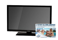 "LED TV ORAVA LT-630, 24"", HD READY, ULTRA SLIM, 1xUSB, 1xHDMI"