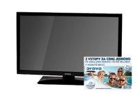 "LED TV ORAVA LT-630, 24"", HD READY, ULTRA SLIM, 1xUSB, 1xHDMI"