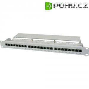 Patch panel Digitus CAT 5e, DN-91524S, 1 HE, 24x port, 100 MBit/s