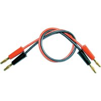 Napájecí kabel s banánky Modelcraft, 250 mm, 2,5 mm²