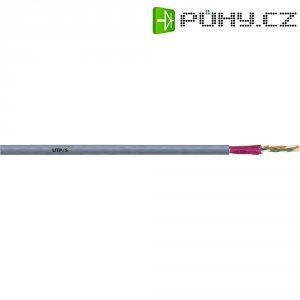 Síťový kabel CAT 5 UNITRONIC LAN FTP, 4 x 2 x 0,2 mm², šedý