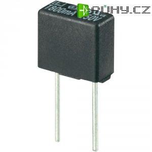 Miniaturní pojistka ESKA pomalá 883015, 250 V, 0,63 A, 8,35 x 4 x 7.7 mm