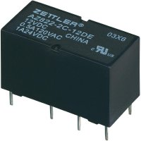 Subminiaturní DIP relé 6 V/DC 2 A Zettler Electronics AZ822-2C-6DE 1 ks