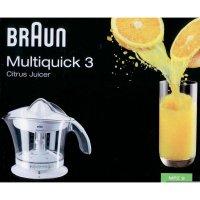 Lis na citrusy Braun MPZ9, 20 W, bílá/transparentní