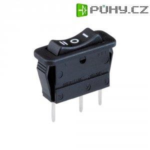 Kolébkový spínač Arcolectric C1520 VB AAB, 1x zap/vyp/zap, 250 V/AC, 16 A