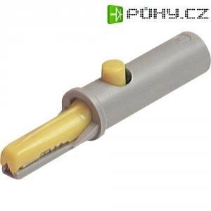 Krokosvorka SKS Hirschmann AK 10, 60 V, 6 A, 4 mm, žlutá