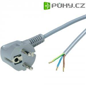 Síťový kabel LappKabel, zástrčka/otevřený konec, 0,75 mm², 1,5 m, šedá