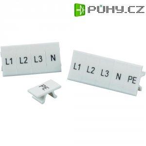 Popisovací pásek Phoenix Contact ZB10,LGS:L1-N,PE (1053412), bílá